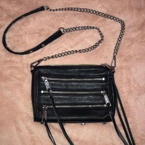 Rebecca Minkoff mini 5 zip bag/ crossbody